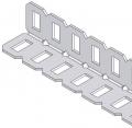 [275-1131] Segmented Angle, 1x1x35 (4-pack)
