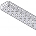 [275-1139] C-Channel 1x5x1x35 (4-pack)