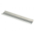 [276-2288] Aluminum C-Channel 1x2x1x25 (6-pack)