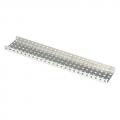 [276-2298] Aluminum C-Channel 1x5x1x35 (6-pack)